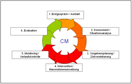 Illustration: Der Case Management Regelkreis